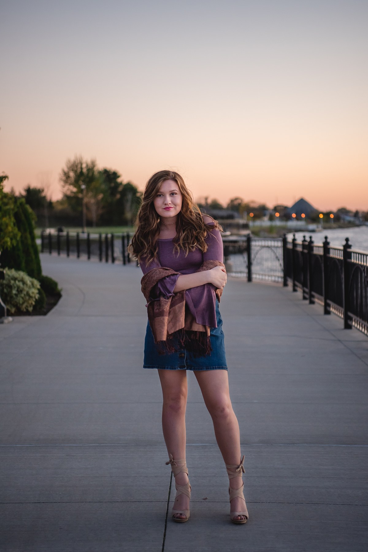 Abbey Alverson Heritage High School Saginaw Michigan Senior Photography