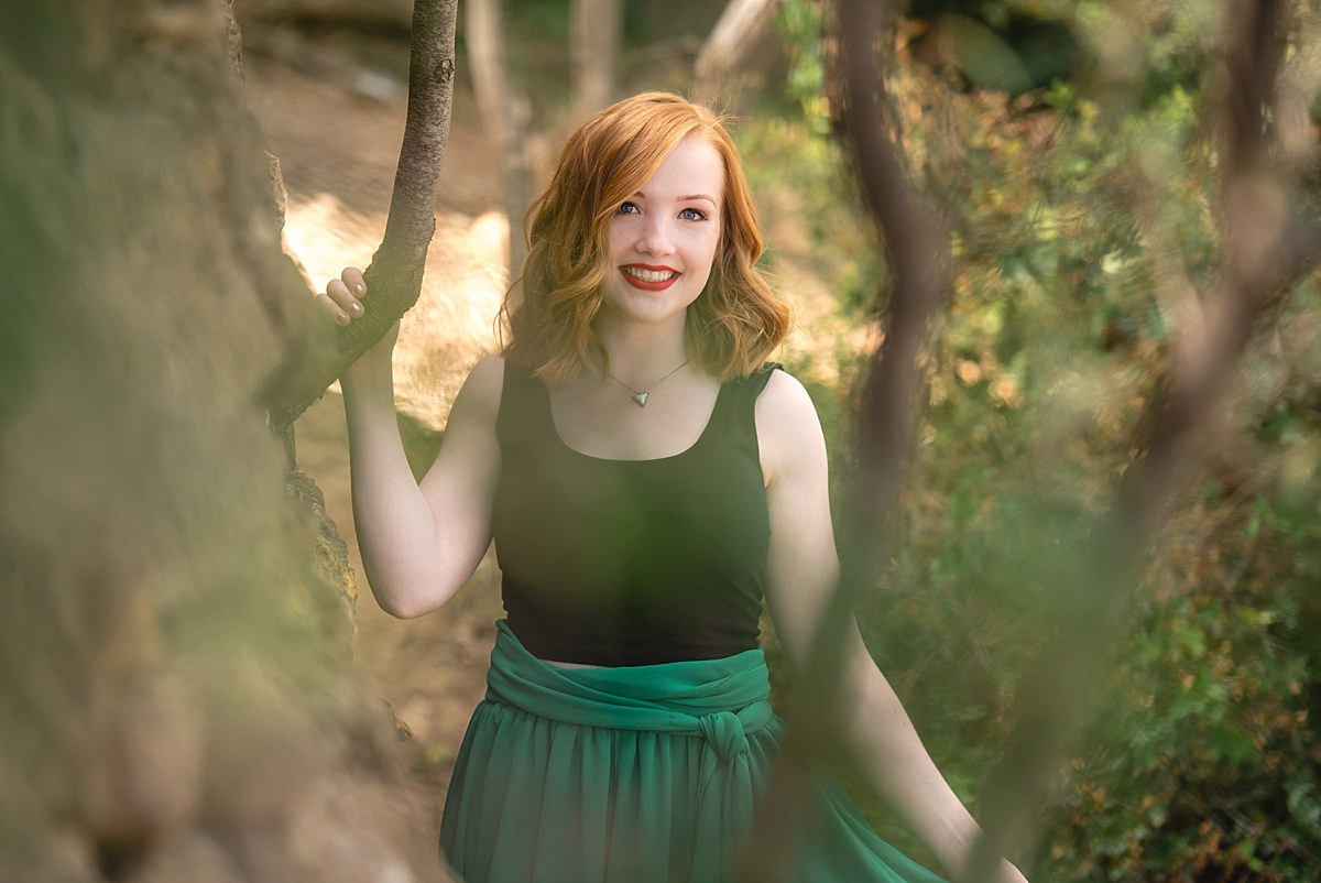 Midland Michigan senior photographer