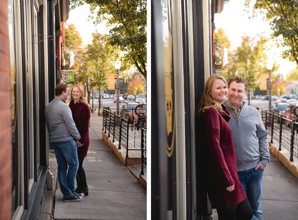 Lynn and Marcus Lansing Engagement Session