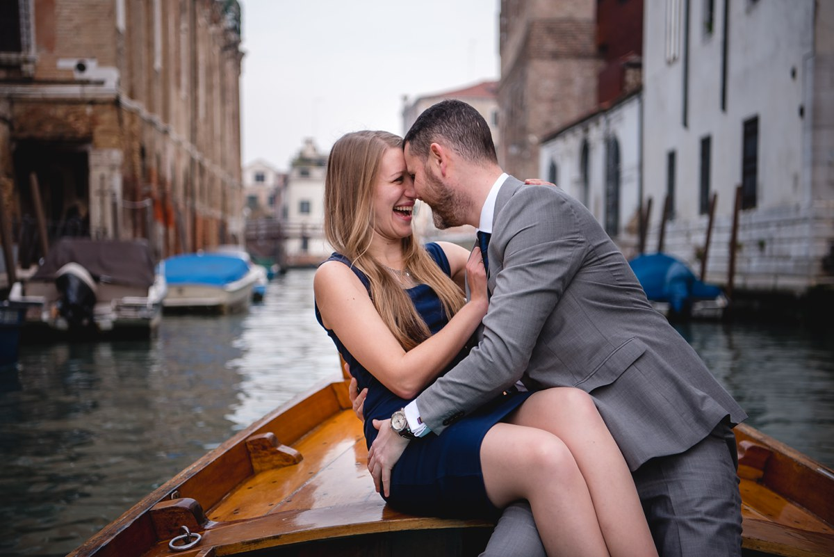 Megan and Mark Venice Italy engagement session Bay City Michigan Wedding Photographer