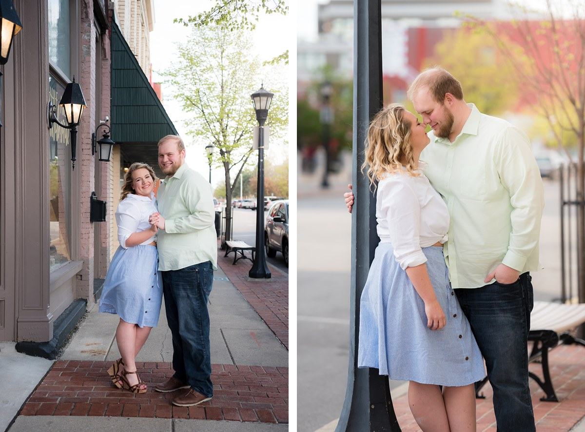 Bay City Michigan Spring Engagement Session