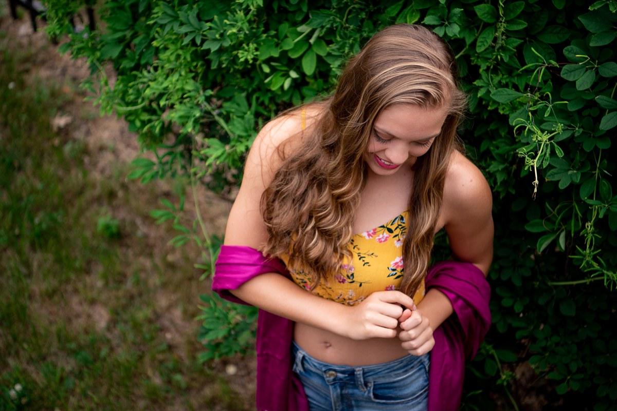 Kelly Lore John Glenn High School Bay City Lansing Michigan Senior Photographer