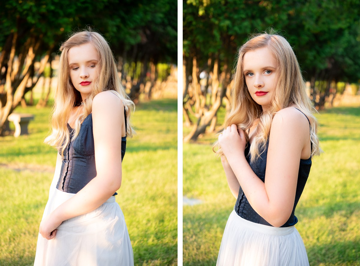 Madey Lutenski Bay City Michigan Senior Portraits Heritage High School