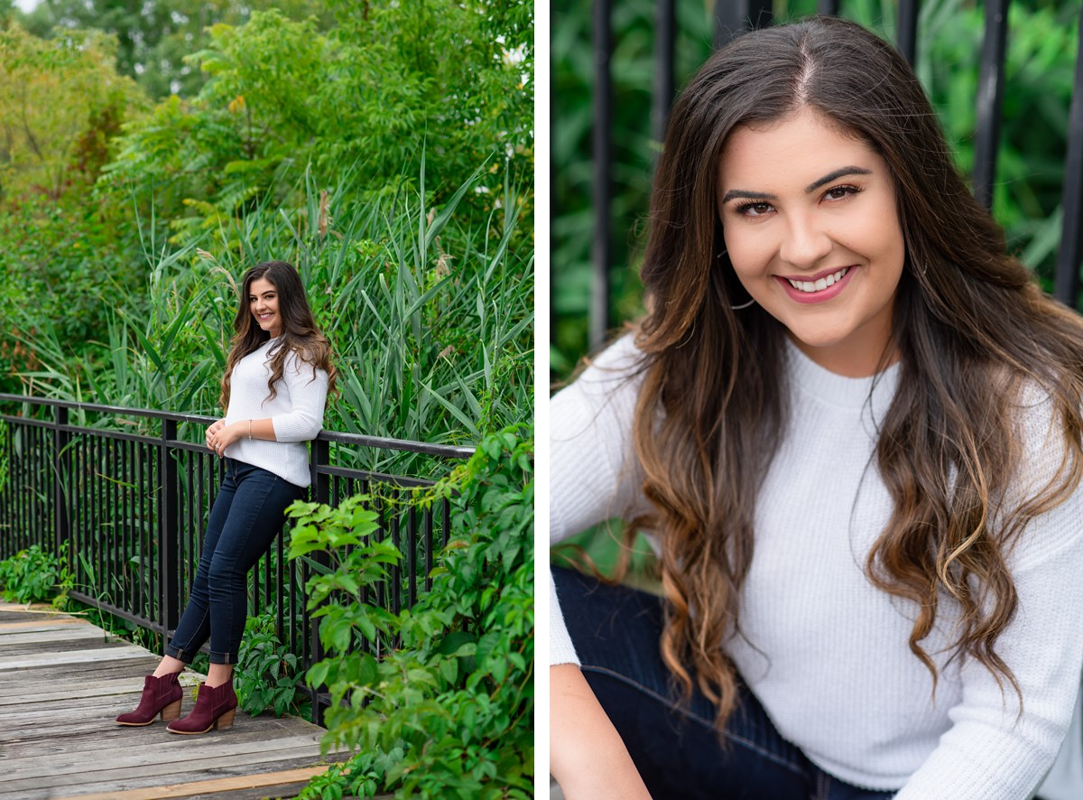 Ahyra Hartt John Glenn High School Bay City Michigan Senior Portraits
