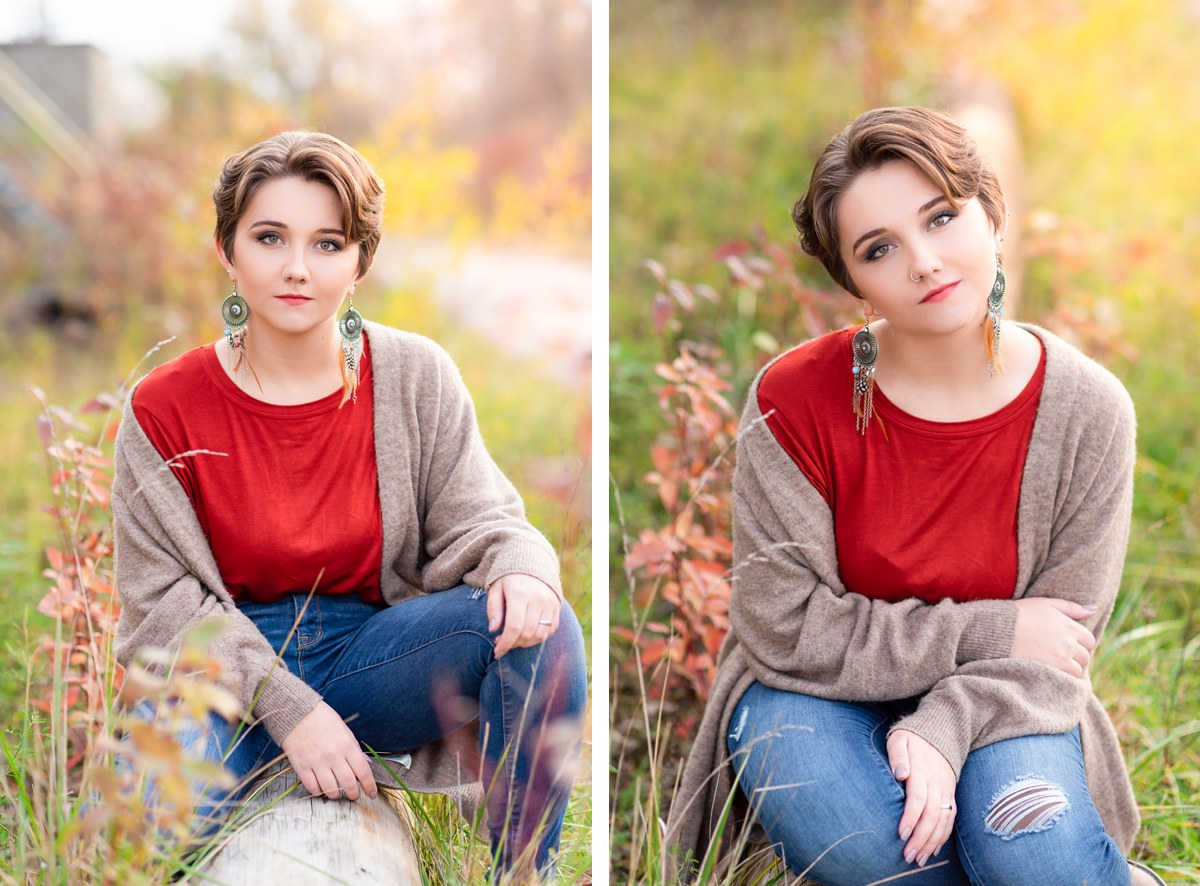 Kaitlyn Challener Midland Michigan High School Senior Photography