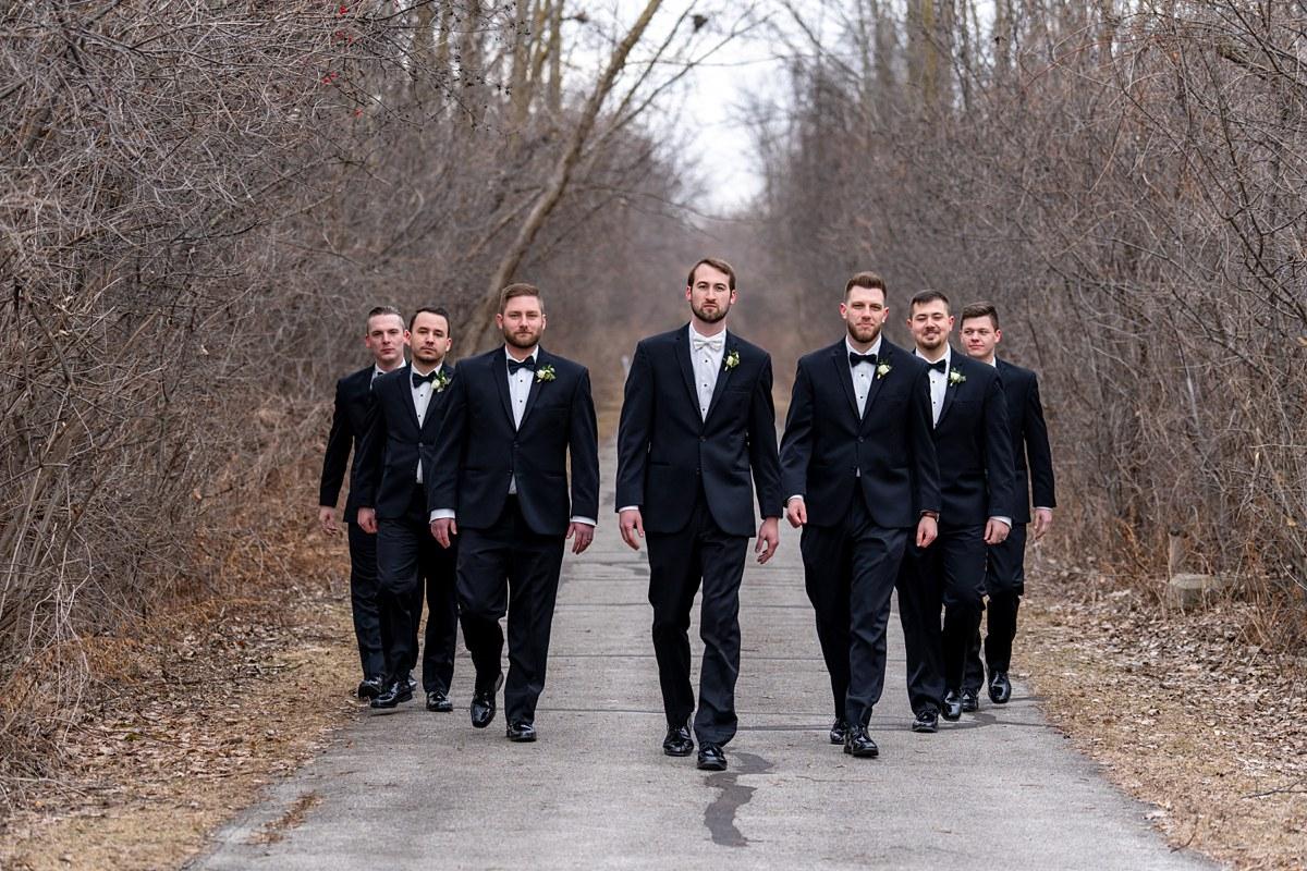 blacksheepchic photography Bay City Michigan city hall wedding