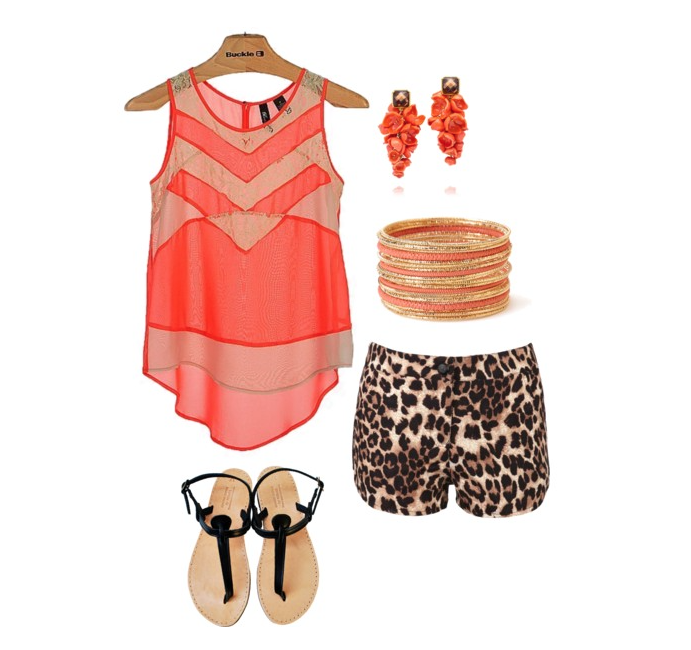 senior style what to wear leopard pastels