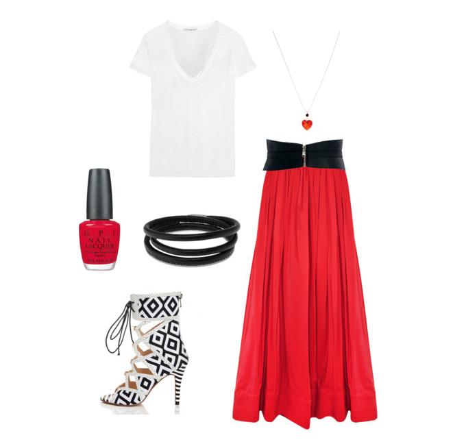 senior style what to wear maxi skirt