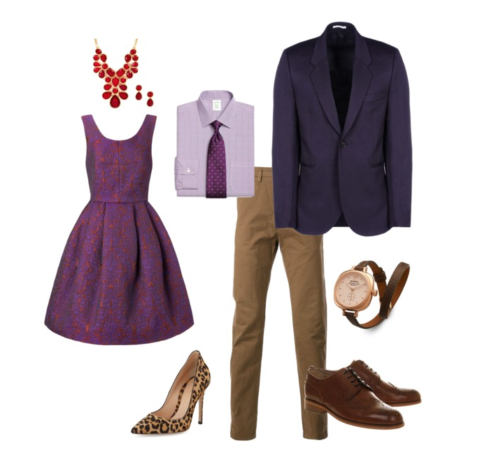 couples style what to wear fall formal