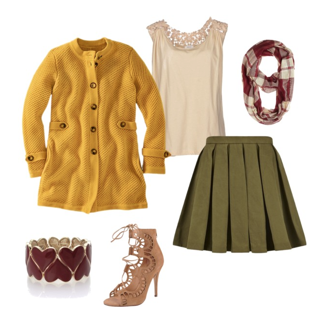senior style what to wear fall pleats