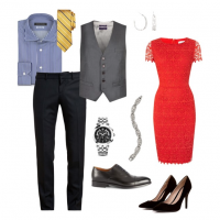 couples style :: what to wear :: party season
