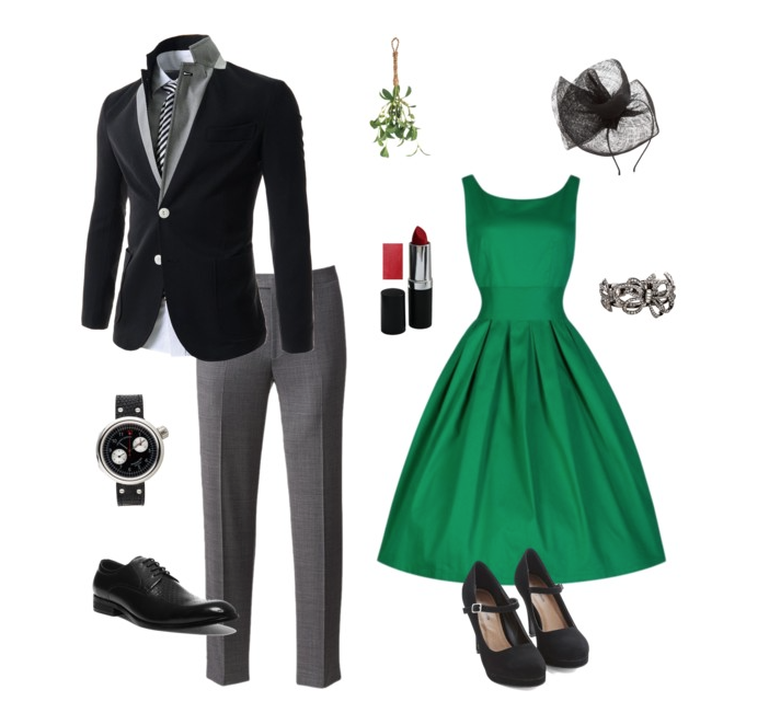 couples style :: what to wear :: christmas eve