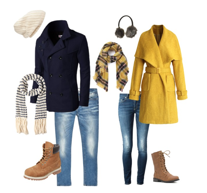 couples style :: what to wear :: christmas stroll