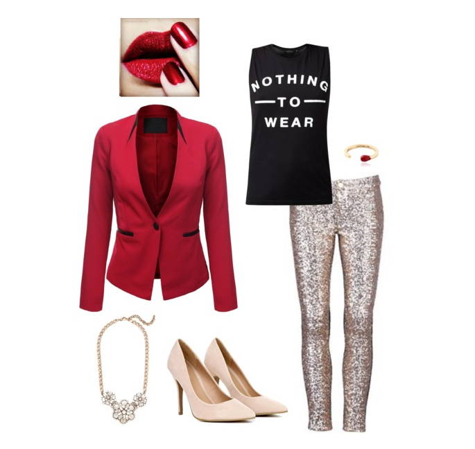 senior style :: what to wear :: a very modern christmas