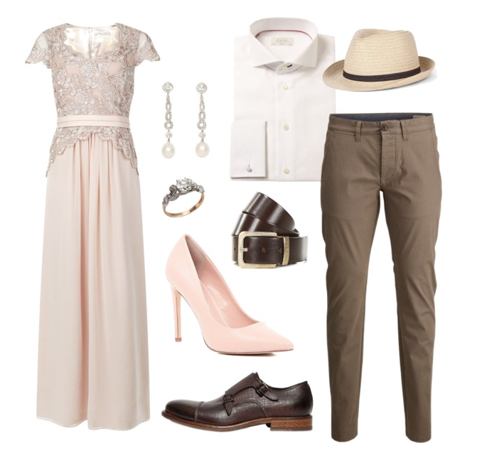 couples style :: what to wear :: spring blossoms
