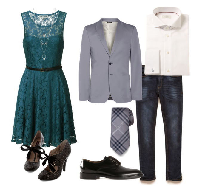couples style :: what to wear :: spring wedding