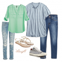 couples style :: what to wear :: memorial day