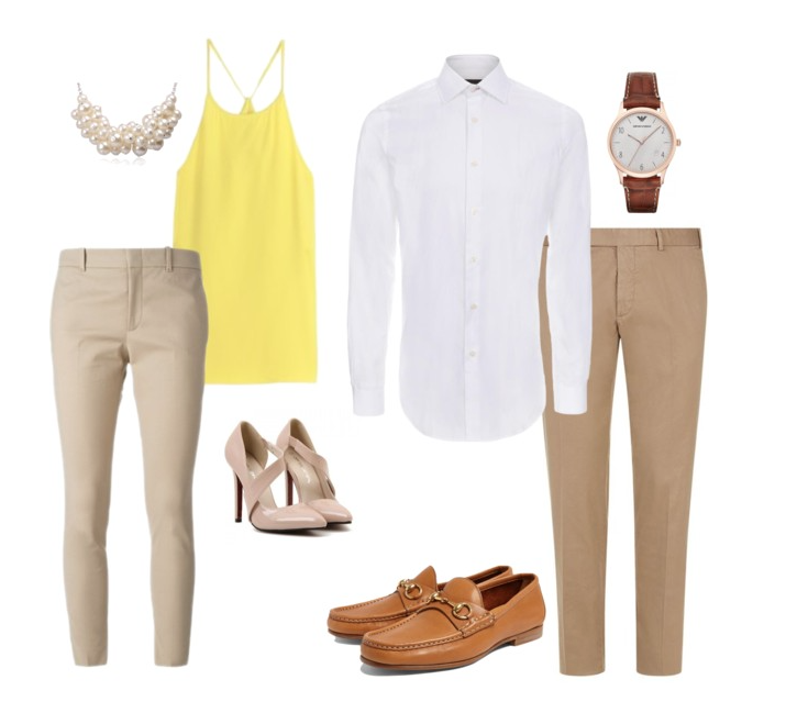 couples style :: what to wear :: spring fresh