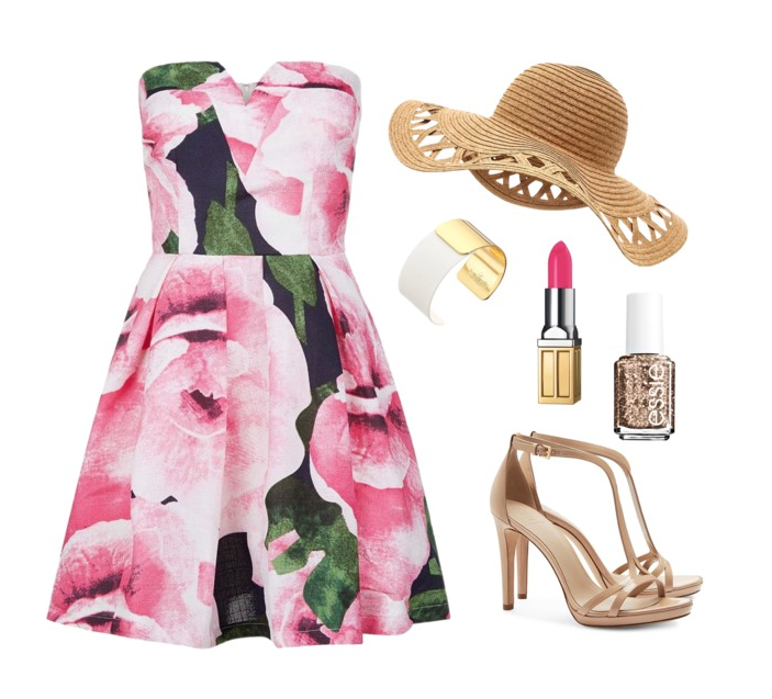 senior style :: what to wear :: bold floral