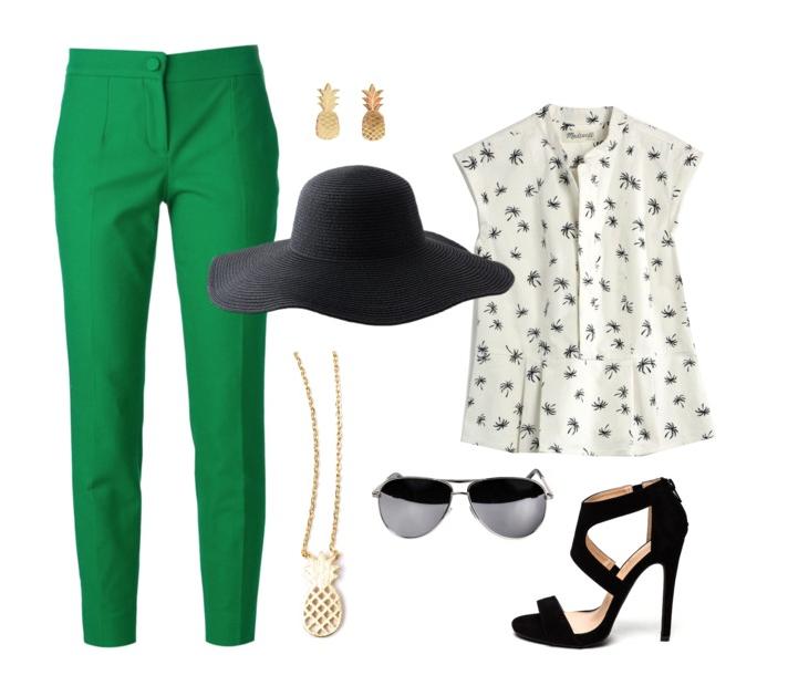 senior style :: what to wear :: gorgeous green