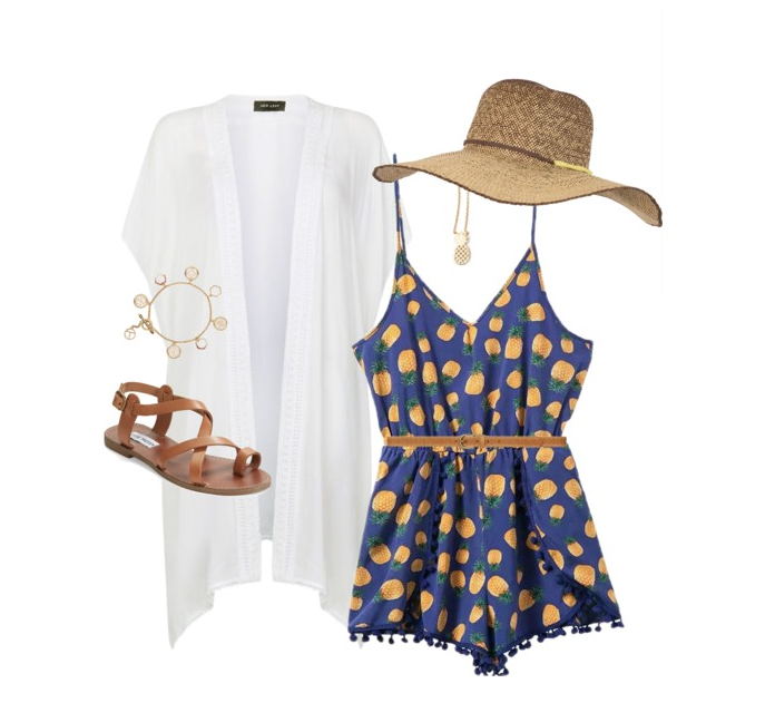 senior style :: what to wear :: pineapple rage