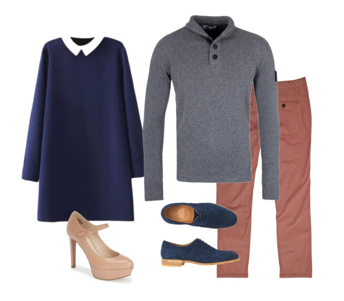couple style : what to wear : mary jane and john
