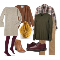 couples style : what to wear : all the leaves are brown