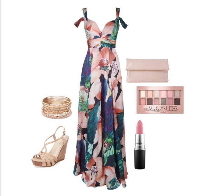 senior style : what to wear : april flowers