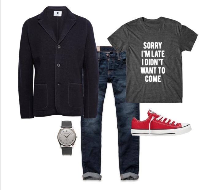 senior style : what to wear : early fall out guy