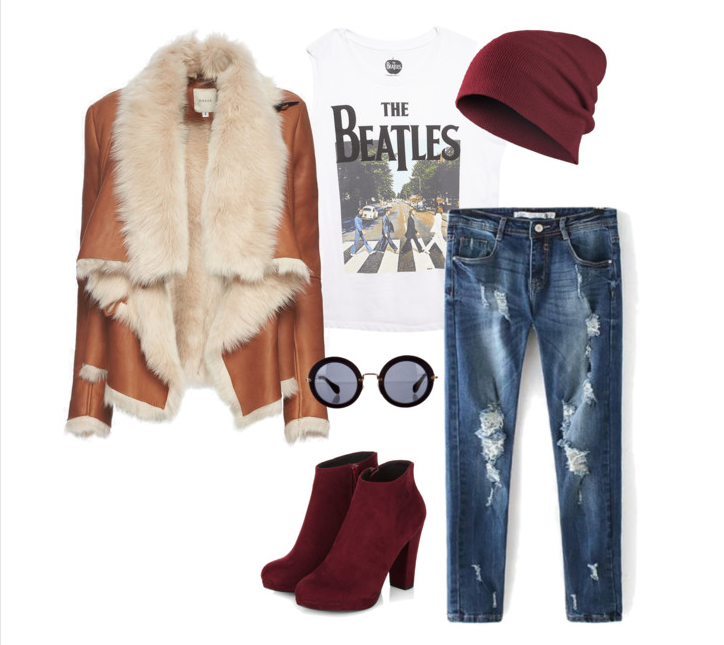 senior style : what to wear : fall down hippie
