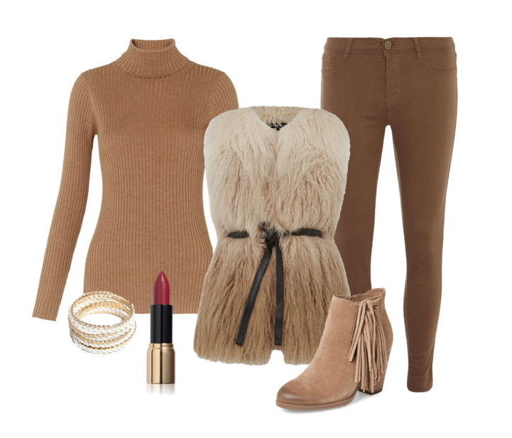 senior style : what to wear : fringe and fur