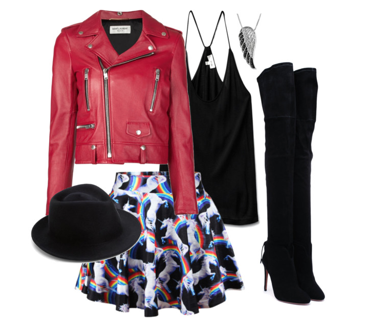 senior style : what to wear : rocker whimsy