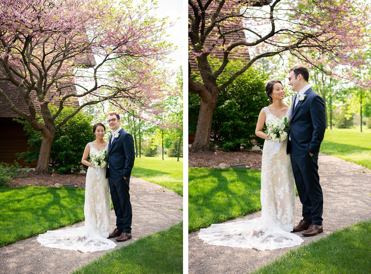 Founders Hall Bancroft Saginaw Wedding Spring