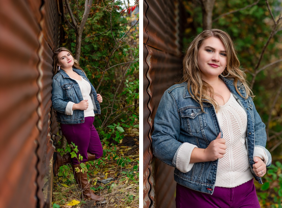 Emily DeCoster Reese High School Senior Portraits Bay City Michigan