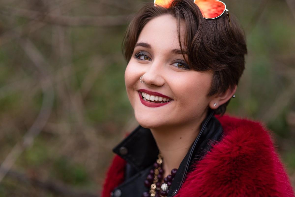 Kaitlyn Challener Midland Michigan High School Senior Photography