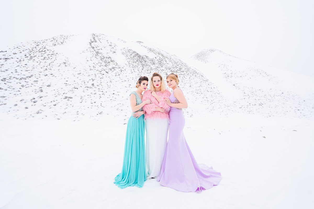The BSC Elite Ice Queens blacksheepchic photography